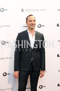 Tony Hale. Photo by Tony Powell. 2018 Mark Twain Prize. Kennedy Center. October 21, 2018