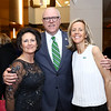 Kasey Nilson and Rep. Joe Crowley, Stuart Allen. Photo by Tony Powell. N Street Village Annual Gala. Marriott Marquis. March 14, 2018