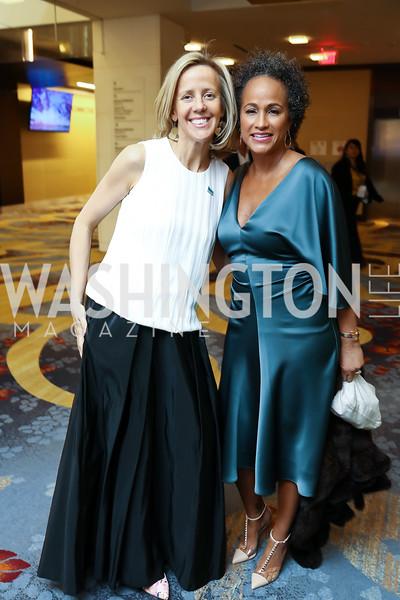 Stuart Allen, Erika Bolden. Photo by Tony Powell. N Street Village Annual Gala. Marriott Marquis. March 14, 2018