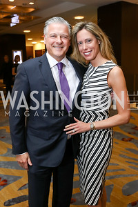 Chris and Allison Putala. Photo by Tony Powell. N Street Village Annual Gala. Marriott Marquis. March 14, 2018