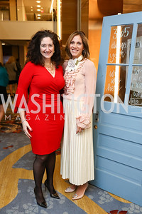 Co-Chairs Dafna Tapiero and Hillary Baltimore. Photo by Tony Powell. N Street Village Annual Gala. Marriott Marquis. March 14, 2018