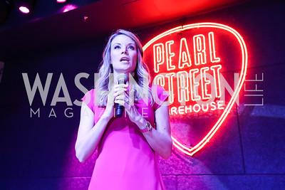 WUSA 9's Kristen Berset. Photo by Tony Powell. 2018 Newsbash. Pearl Street Warehouse. February 20, 2018