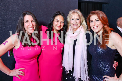 Barbara Martin, Annie Perezchica, Dr. Jill Biden, Jayne Sandman. Photo by Tony Powell. 2018 Newsbash. Pearl Street Warehouse. February 20, 2018