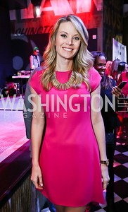 WUSA 9's Kristen Berset. Photo by Tony Powell. 2018 Newsbash. Pearl Street Warehouse. February 20, 2018