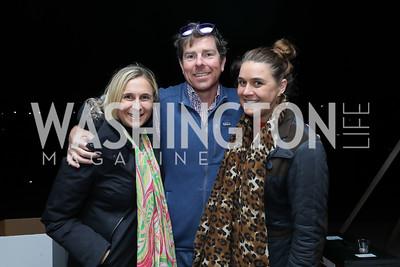 Laura Gaiser, Jeff Wright, Julia Gaiser. Photo by Tony Powell. Night at the Point. James Creek Marina. October 19, 2018