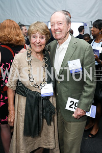 """Lynne and Joe Horning. Photo by Tony Powell. """"Night of Hope."""" 101 Constitution. October 11, 2018"""