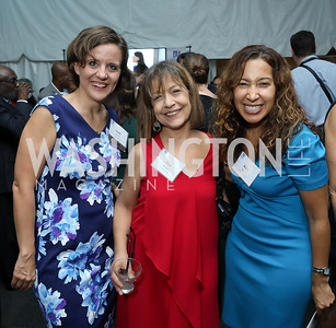 "Leah Garrett, Pam Schaeffer, Kim Harris. Photo by Tony Powell. ""Night of Hope."" 101 Constitution. October 11, 2018"