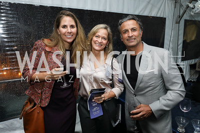 "Alison Friedman, Carrie VanRoekel, Raj Madan. Photo by Tony Powell. ""Night of Hope."" 101 Constitution. October 11, 2018"