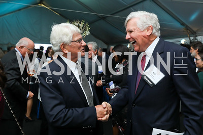 """Thomas Nees, Bill Conway. Photo by Tony Powell. """"Night of Hope."""" 101 Constitution. October 11, 2018"""