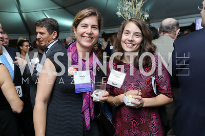"""Maria Weber, Megan Moore. Photo by Tony Powell. """"Night of Hope."""" 101 Constitution. October 11, 2018"""