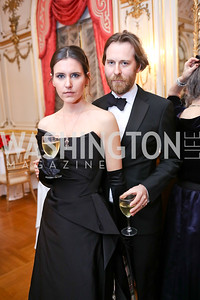 Anja and Richard von Kalinowski-Meager. Photo by Tony Powell. 2018 Russian Ball. January 13, 2018