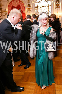 Paul du Quenoy, Robin Phillips. Photo by Tony Powell. 2018 Russian Ball. January 13, 2018