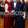 Rhoda Septilici, Romania Amb. George Maior and Anamaria Maior. Photo by Tony Powell. 2018 Russian Ball. January 13, 2018