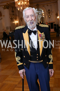 Colonel Peter Russell. Photo by Tony Powell. 2018 Russian Ball. January 13, 2018