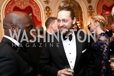 Prince Nicholas Obolensky. Photo by Tony Powell. 2018 Russian Ball. January 13, 2018