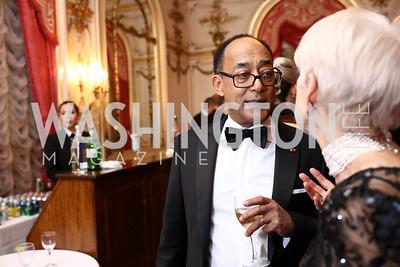 Prince Ermias Sahle-Selassie. Photo by Tony Powell. 2018 Russian Ball. January 13, 2018