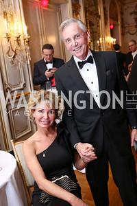 Lana Burns, Jim Martell. Photo by Tony Powell. 2018 Russian Ball. January 13, 2018