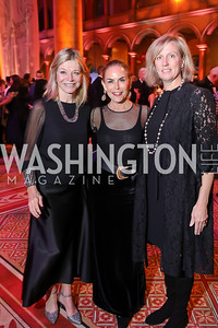 Kay Kendall, Melissa Moss, Jodi McLean. Photo by Tony Powell. 2018 Shakespeare Theatre Co. Gala. Building Museum. October 14, 2018