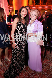Rose Carter, Mary Mochary. Photo by Tony Powell. 2018 Shakespeare Theatre Co. Gala. Building Museum. October 14, 2018
