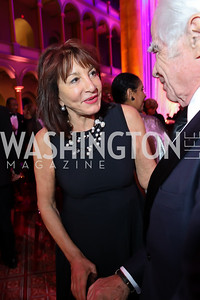 Nora Pouillon. Photo by Tony Powell. 2018 Shakespeare Theatre Co. Gala. Building Museum. October 14, 2018