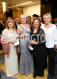 Ida Cascio, Svetlana Janco, Ana Utley, Janet Staihar. Photo by Tony Powell. 2018 Spanish Catholic Center Gala. Marriott Marquis. October 27, 2018