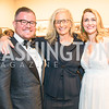 Damir Fazlic, Annie Leibovitz, Amra Fazlic. Photo by Alfredo Flores. 2018 Spring Gala. National Museum of Women in the Arts. April 20, 2018.