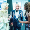 Hilary Geary Ross, Wilbur Ross, Gail Wilson, Photo by Alfredo Flores. 2018 Spring Gala. National Museum of Women in the Arts. April 20, 2018.