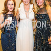 Robin Burton, Anne Jacoboski, Mary Margaret Scharf, Photo by Alfredo Flores. 2018 Spring Gala. National Museum of Women in the Arts. April 20, 2018.