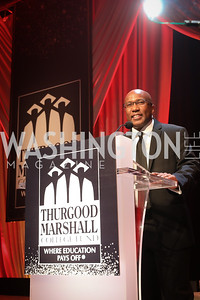 Thurgood Marshall College Fund President & CEO Harry Williams. Photo by Tony Powell. 2018 Thurgood Marshall College Fund Gala. Wardman Park. October 29, 2018