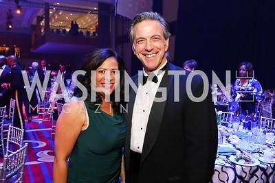 AJ Petross, Kevin Walling. Photo by Tony Powell. 2018 Thurgood Marshall College Fund Gala. Wardman Park. October 29, 2018