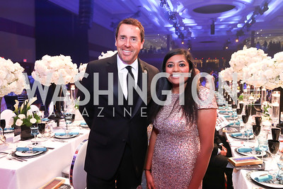 Rep. Mark Walker, Sruthi Prabhu. Photo by Tony Powell. 2018 Thurgood Marshall College Fund Gala. Wardman Park. October 29, 2018