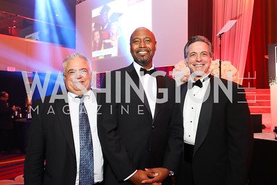 Will Papa, Tim Daniels, Kevin Walling. Photo by Tony Powell. 2018 Thurgood Marshall College Fund Gala. Wardman Park. October 29, 2018