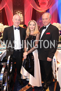Miller Coors CEO Gavin Hattersley, Susan Clifton and Gallup Organization CEO Jim Clifton. Photo by Tony Powell. 2018 Thurgood Marshall College Fund Gala. Wardman Park. October 29, 2018