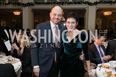 Vladimir and Evgenia Kara-Murza. Photo by Tony Powell. 2018 Tom Lantos Human Rights Prize Award Ceremony. Willard Hotel. December 5, 2018