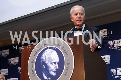Vice President  Joe Biden. Photo by Tony Powell. 2018 Tom Lantos Human Rights Prize Award Ceremony. Willard Hotel. December 5, 2018