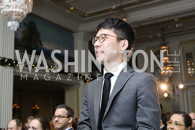 Nathan Law. Photo by Tony Powell. 2018 Tom Lantos Human Rights Prize Award Ceremony. Willard Hotel. December 5, 2018