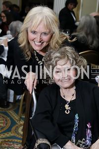 Katrina Lantos Swett, Annette Lantos. Photo by Tony Powell. 2018 Tom Lantos Human Rights Prize Award Ceremony. Willard Hotel. December 5, 2018