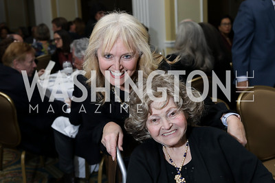 Katrina Lantos Swett, Annette Lantos. Photo by Tony Powell. 2018 Tom Lantos Human Rights Prize Award Ceremony. Willard Hotel. December 5, 2018