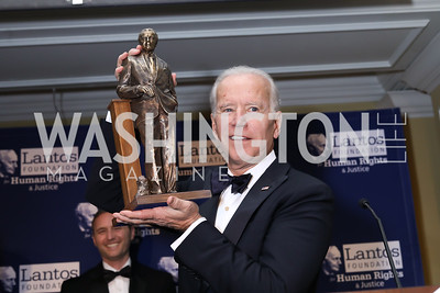 Vice President  Joe Biden. Photo by Tony Powell. 2018 Tom Lantos Human Rights Prize Award Ceremony. Willard Hotel. December 5, 2018