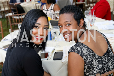 Stacey Mosley, Tamika Richard. Photo by Tony Powell. 2018 UpLIFTing Jazz Brunch. September 30, 2018