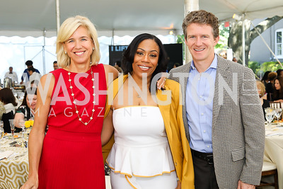 Dr. Sheila Walker, Dr. Kristy Arnold, Willy Walker. Photo by Tony Powell. 2018 UpLIFTing Jazz Brunch. September 30, 2018