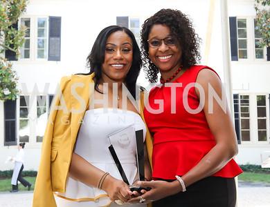 Dr. Kristy Arnold, Honoree Aminata Diarra. Photo by Tony Powell. 2018 UpLIFTing Jazz Brunch. September 30, 2018