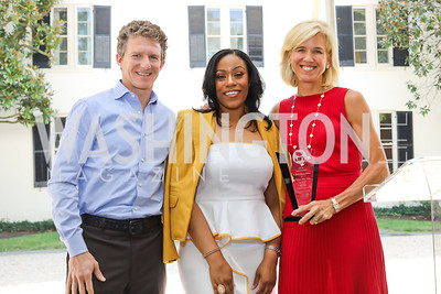 Willy Walker, Dr. Kristy Arnold, Dr. Sheila Walker. Photo by Tony Powell. 2018 UpLIFTing Jazz Brunch. September 30, 2018