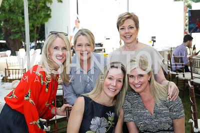 Stephanie Hyman, Carol Groh, Annie Magruder, Dianne Bruce, Amy Bischoff. Photo by Tony Powell. 2018 UpLIFTing Jazz Brunch. September 30, 2018