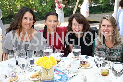Gina Coburn, Jennifer Wood, Natalia Monteiro, Dory Clark. Photo by Tony Powell. 2018 UpLIFTing Jazz Brunch. September 30, 2018