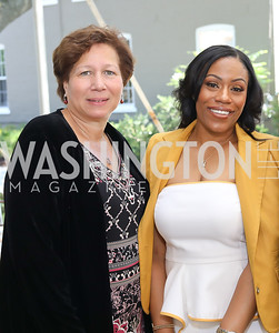 Donna Gribsby, Dr. Kristy Arnold. Photo by Tony Powell. 2018 UpLIFTing Jazz Brunch. September 30, 2018