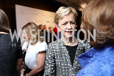 Ann Stock. Photo by Tony Powell. 2018 Vital Voices Gala. Kennedy Center. April 4, 2018
