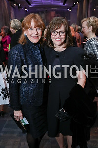 Susan Davis, Sally Field. Photo by Tony Powell. 2018 Vital Voices Gala. Kennedy Center. April 4, 2018