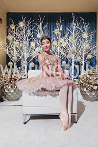 Maki Onuki. Photo by Tony Powell. 2018 WB Nutcracker Tea. NMWA. December 9, 2018