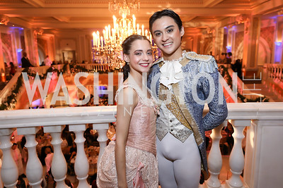 Alexa Torres, Lope Lim. Photo by Tony Powell. 2018 WB Nutcracker Tea. NMWA. December 9, 2018